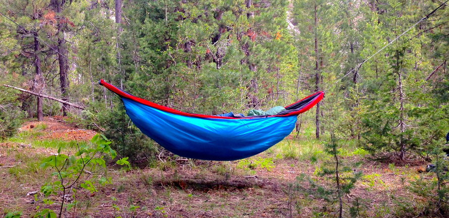 Medium image of ahe arrowhead equipment hammock camping backpacking under quit top